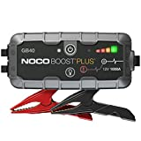 NOCO Boost Plus GB40 1000 Amp 12-Volt UltraSafe Lithium Jump Starter Box, Car Battery Booster Pack,...