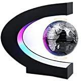 MOKOQI Magnetic Levitating Globe with LED Light, Cool Tech Gift for Men Father Boys, Birthday Gifts...