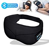 Sleep Mask Headphones, Bluetooth Eye Mask, Headband Headphones with Built -in Speakers, Wireless...
