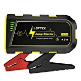 LOFTEK Portable Car Battery Jump Starter (Up to 7.0L Gas or 5.5L Diesel Engine), 12V Power Pack Auto...