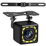 Car Backup Camera, Rear View Camera Ultra HD 12 LED Night Vision,Waterproof Reverse Camera 140°...