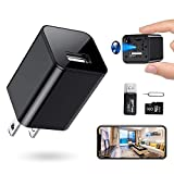 RXAMYDE New 2021 Hidden Camera Mini Spy Charger 1080P USB Motion Activated Camera Wide Viewing Angle...