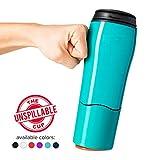 Mighty Mug Double Wall Plastic Travel Mug (Teal, 16oz)