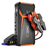 TACKLIFE T8 800A Peak 18000mAh Lithium Car Jump Starter for Up to 7.0L Gas or 5.5L Diesel Engine,...