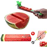 Yueshico Stainless Steel Watermelon Slicer Cutter Knife Corer Fruit Vegetable Tools Kitchen Gadgets...