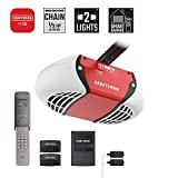 Craftsman CMXEOCG471 Garage Door Opener, Red