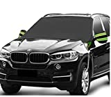 Fedciory Car Windshield Snow Cover,3-Layer Protection&Double Side Design,Snow, Ice, Frost,UV Full...