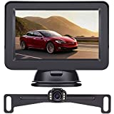 LeeKooLuu 2020 HD Backup Camera and Monitor Kit OEM Driving Hitch Rear/Front View Observation System...