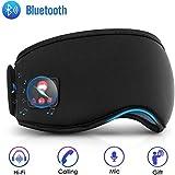 Sleep Headphones Bluetooth Sleep Mask, Noise Cancelling Musical Sleep Mask, Bluetooth Sleeping Eye...