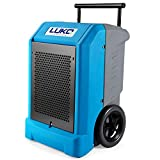 LUKO 230 Pints Commercial Dehumidifier with Pump & 25.5 FT Long Drain Hose, Portable Roto-Molded...
