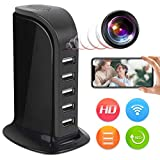 Spy Camera Wireless Hidden JLRKENG Full HD 4K USB Nanny Cam-Suitable for Home and Office Security...
