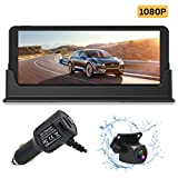 FHD 1080P Backup Camera and 7 inch Monitor kit for Truck/car/Pickup/rv/Trailer/SUV HD Rear or Front...