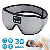 Sleep Headphones Bluetooth Eye Mask, 20-28 inches Adjustable FREGENBO Music 3D Sleep Mask 2020...