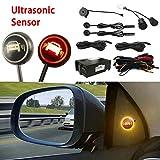 Car Blind Spot Monitoring System, 12V Car Blindspot Sensors Lane Change Reminding Driving Assistance...