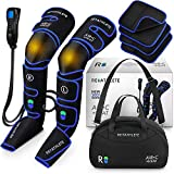 Reathlete Leg Massager, Air Compression for Circulation Calf Feet Thigh Massage, Muscle Pain Relief,...