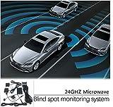 CarBest New Radar Based Blind Spot Sensor and Rear Cross Traffic Alert System, BSD, BSM, 24GHZ...
