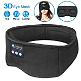 Sleep Headphones Bluetooth Eye Mask,ZesGood 3D Bluetooth 5.0 Wireless Sleep Mask,Washable Adjustable...