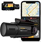 Rexing V3 Dual Camera Front and Inside Cabin Infrared Night Vision Full HD 1080p WiFi Car Taxi Dash...