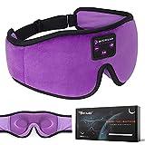 Boodlab Sleep Headphones Bluetooth Sleep Mask, 3D Sleep Eye Mask with Ultra-Thin HD Stereo Speakers...