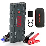 NEX POW 2000A Peak 18000mAh Car Jump Starter with USB Quick Charge 3.0 (Up to 7.0L Gas or 6.5L...
