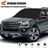 [2019 Newest] Windshield Snow Cover, Extra Large & 3-Layer Thick Fits Any Car Truck SUV Van, Straps...
