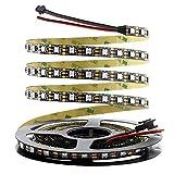 Arkare WS2812B LED Strip Addressable LED Pixels Light 300 LEDs 16.4ft DC 5V Programmable Dream Color...