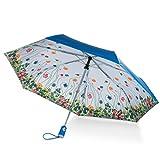 totes Under Canopy Print Auto Open Close Umbrella,Floral
