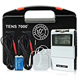TENS 7000 Digital TENS Unit With Accessories - TENS Unit Muscle Stimulator For Back Pain, General...