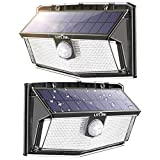 300 LED Solar Lights Outdoor, Super Bright Flood Lamp with Motion Sensor and Higher Security, IP67...