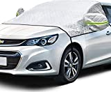 AstroAI Windshield Snow Cover, Car Windshield Cover for Ice and Snow 4-Layer Protection for Snow,...