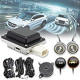 EWAY Universal Car Radar Blind Spot Detectors Sensor System Kit Auto Safety Monitoring Assistant,...