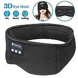 Sleep Headphones Bluetooth Eye Mask,ZesGood 3D Bluetooth 5.0 Wireless Sleep Mask,Washable Adjustable...