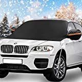 Windshield Snow Cover, KKTICK Car Windshield Covers for Ice Snow Frost Full Protection, Windscreen...