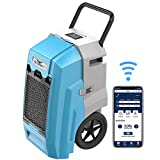 ALORAIR Smart WiFi Storm Pro Industrial Commercial Dehumidifier with Pump, 85 PPD AHAM, Compact,...