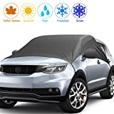 2019 Upgrade Version Car Windshield Snow Cover, Snow Ice Frost UV Cover for Car Front and Side...