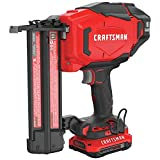 CRAFTSMAN V20 Cordless Brad Nailer Kit, 18GA (CMCN618C1)