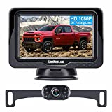 LeeKooLuu LK3 HD 1080P Backup Camera with Monitor Kit OEM Driving Hitch Rear/Front View Observation...