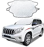 Cosyzone Windshield Snow Ice Cover Winter Frost Cover for Car Wind-Proof Magnetic Edge Keeps Ice...