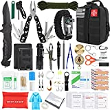Gifts for Men Dad Husband Fathers Day, KOSIN Survival Gear and Equipment,100 Pcs Survival Kit First...