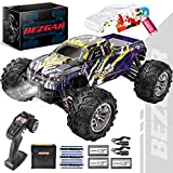 BEZGAR HM164 Brushless Hobby Grade 1:16 Scale Remote Control Truck, 4WD High Speed 52+ kmh All...