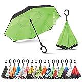 Sharpty Inverted Umbrella, Umbrella Windproof, Reverse Umbrella, Umbrellas for Women with UV...