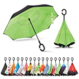 Sharpty Inverted Umbrella, Umbrella Windproof, Reverse Umbrella, Umbrellas for Women with UV...