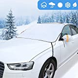 GAMURRY Windshield Cover Set for Ice and Snow for Car, Car Windshield Snow Cover Ice Removal Sun...