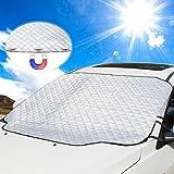 Car Windshield Sun Cover, UBEGOOD Sunshade for Windshield - Blocks UV Rays, Keep Your Car Cool and...