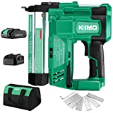 KIMO 20V 18 Gauge Cordless Brad Nailer/Stapler Kit, 2 in 1 Cordless Nail/Staple Gun w/Lithium-Ion...