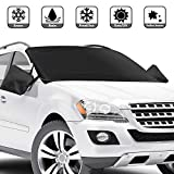 CHERYLON Car Windshield Snow Cover with Side Mirror Covers for Most Vehicles, Cars Trucks Vans and...