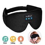 MUSICOZY Sleep Headphones Bluetooth Wireless Sleeping Eye Mask, Office Travel Unisex Birthday Gifts...