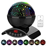 YSD Night Lighting Lamp, Modern Star Rotating Sky Projection, Romantic Star Projector Lamp for Kids,...