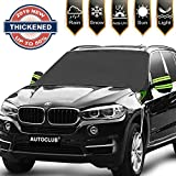 AUTOCLUB Car Windshield Snow Cover,3-Layer Protection&Double Side Design,Snow, Ice, Frost,UV Full...