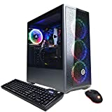 CyberpowerPC Gamer Xtreme VR Gaming PC, Intel i5-10400F 2.9GHz, GeForce GTX 1660 Super 6GB, 8GB...